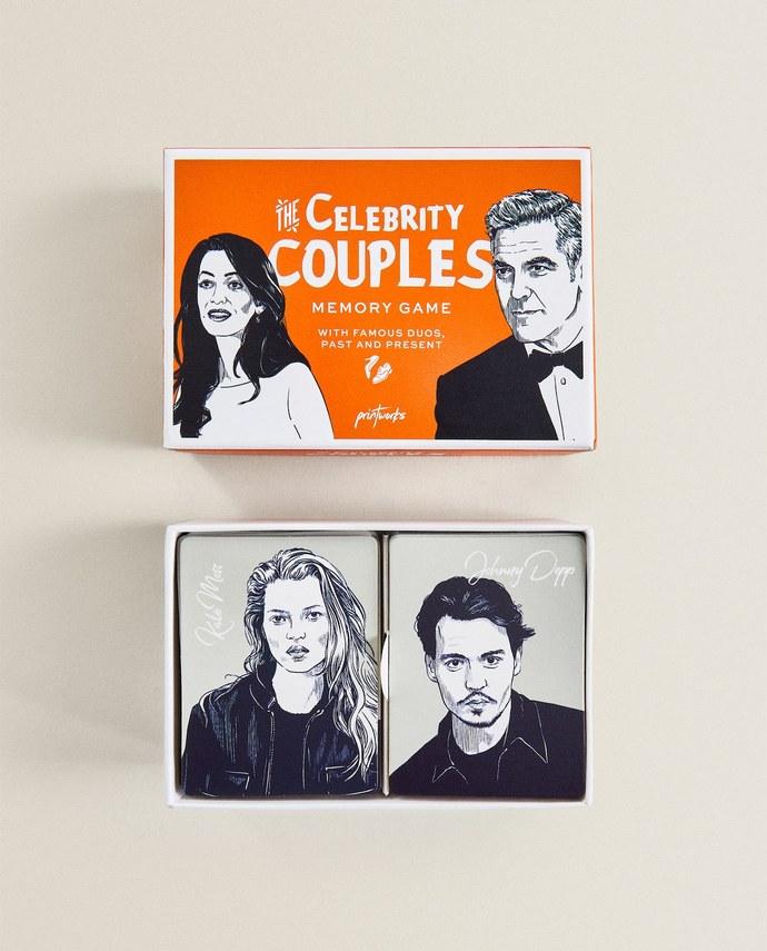 Επιτραπέζιο παιχνίδι Celebrity Couples | Zara Home Ελλάδα / Greece