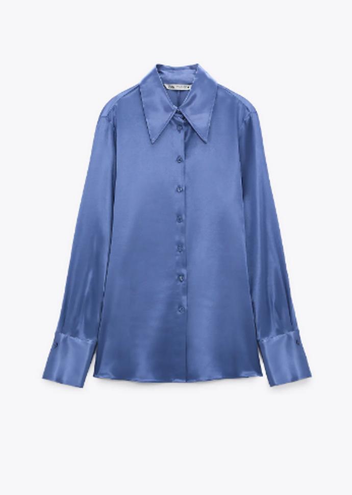 πουκάμισο από ρευστό ύφασμα