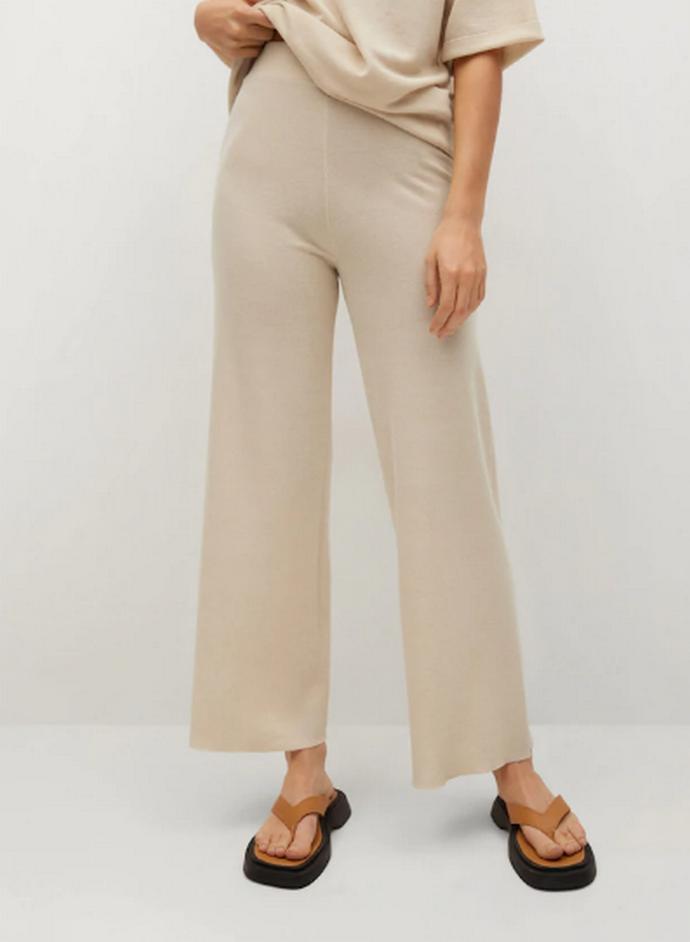 Παντελόνι πλεκτό ίσιο
