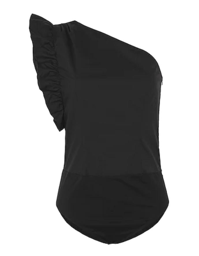 bodysuit με έναν ώμο