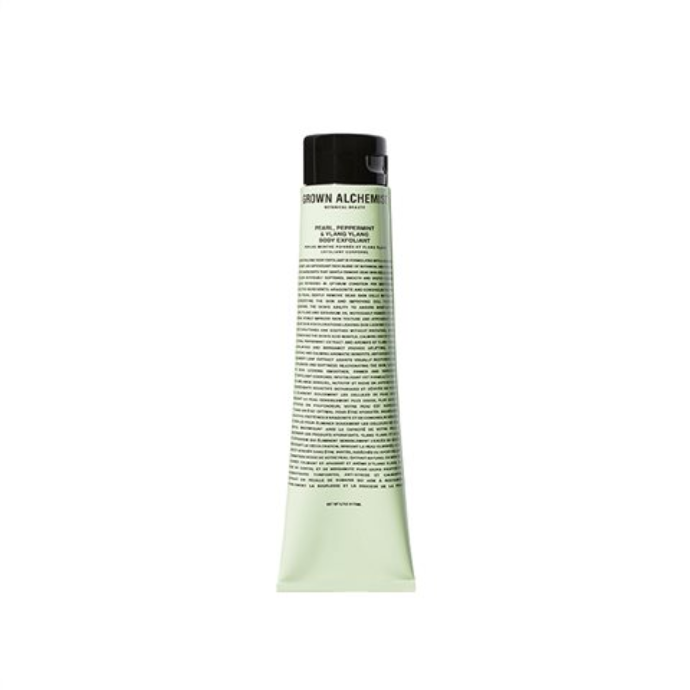 PURIFYING BODY EXFOLIANT PEARL, PEPPERMINT, YLANG YLANG - GROWN ALCHEMIST