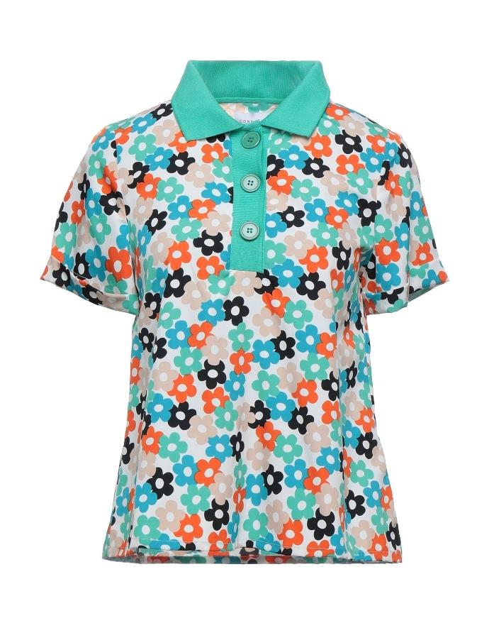 Μπλουζάκι πόλο floral