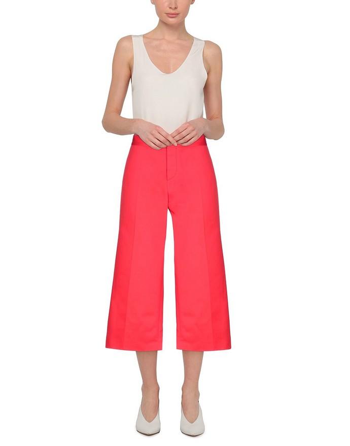 παντελόνι σε κόκκινο χρώμα
