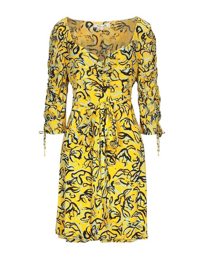 mini φόρεμα με μακρύ μανίκι