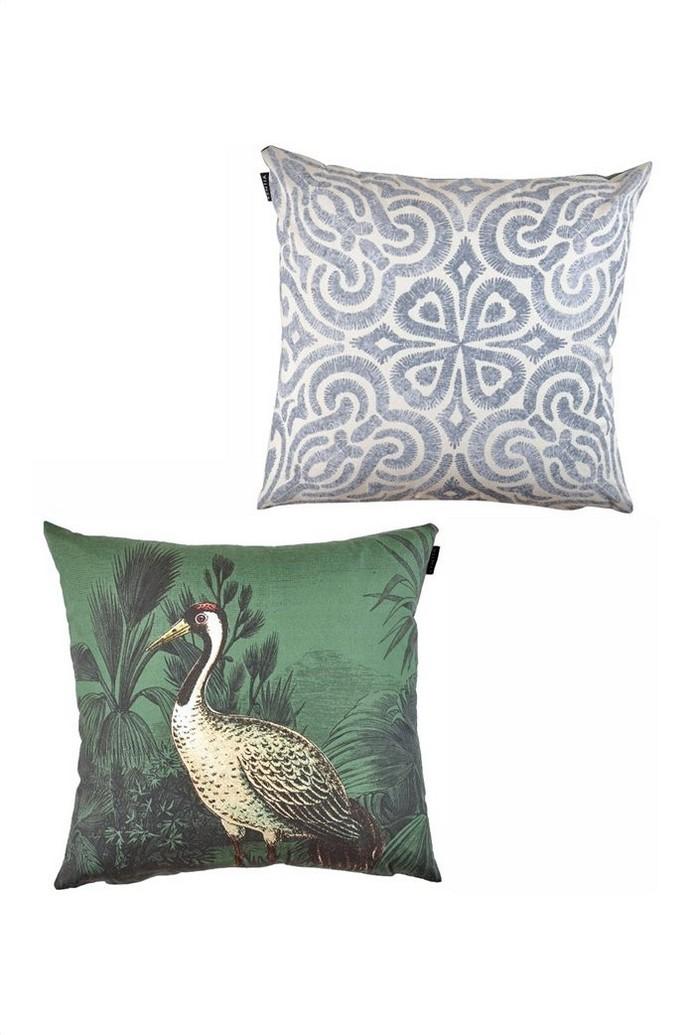 Kentia διακοσμητική μαξιλαροθήκη διπλής όψης με all-over print