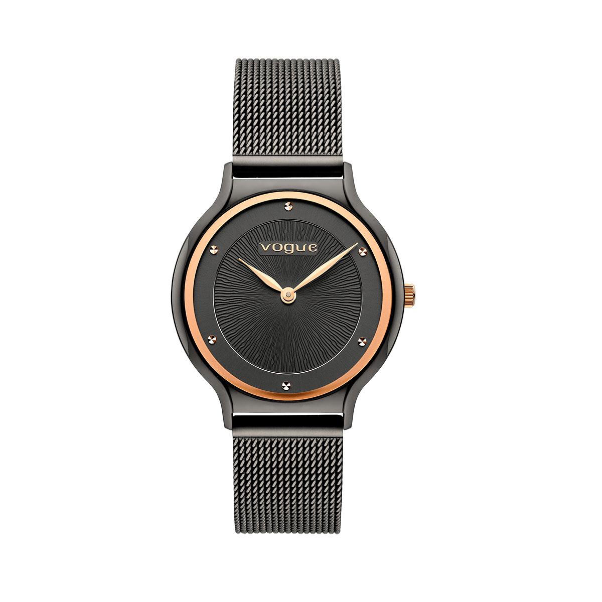 Crystal ρολόι ανθρακί καντράν
