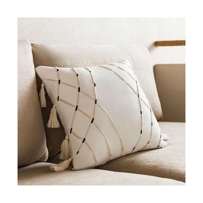 Μαξιλαροθήκη Διακοσμητική Sabi Off White Gofis Home