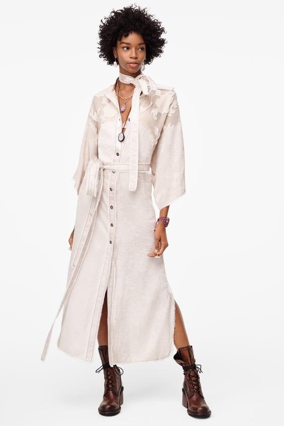 Μακρύ κιμονό Limited Edition - Zara