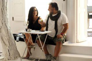 Γρηγόρης Αρναούτογλου- Νάνσυ Αντωνίου: Ερωτευμένοι στη Μύκονο