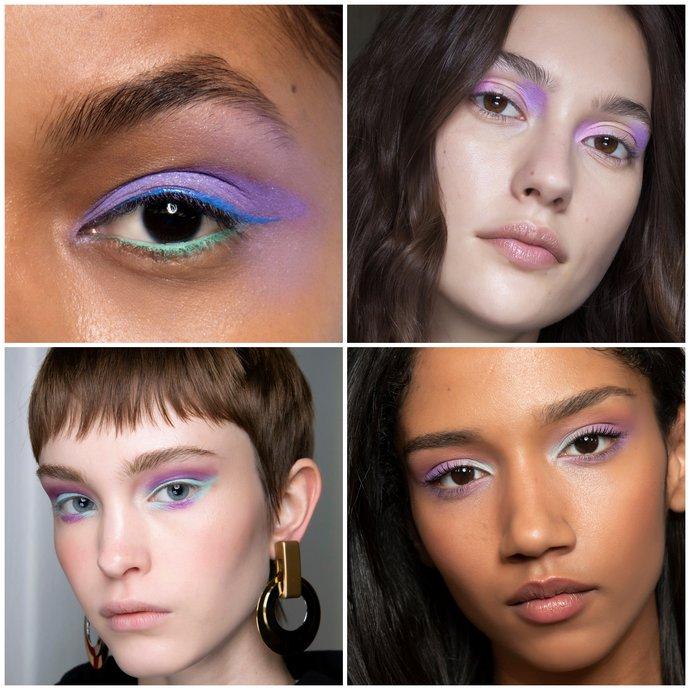 λιλά makeup