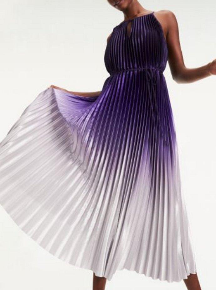 φόρεμα μακρύ ombre