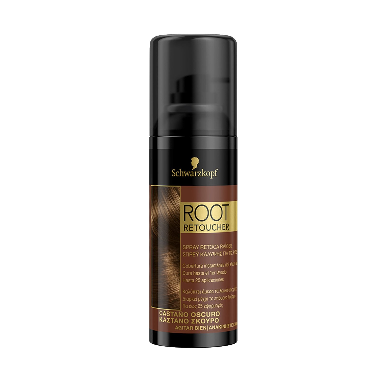 spray μαλλιών με χρώμα