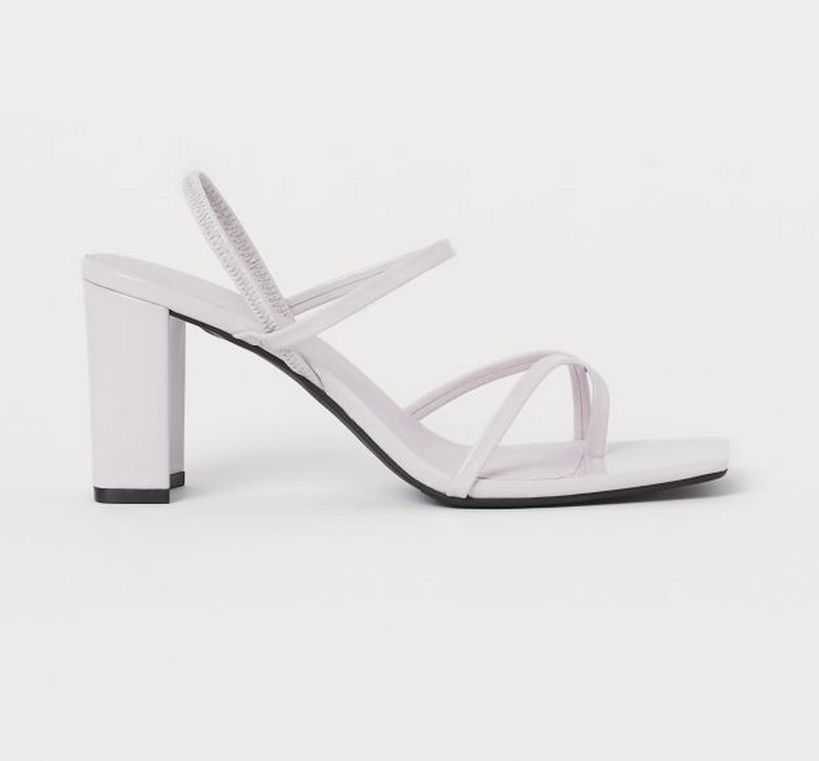H&M - Block-heeled πέδιλα