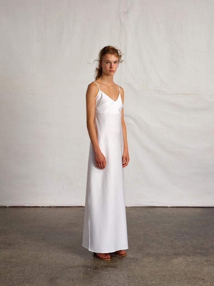 μάξι slip dress