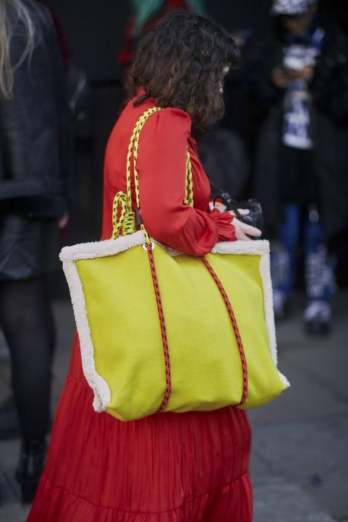 neon big bag