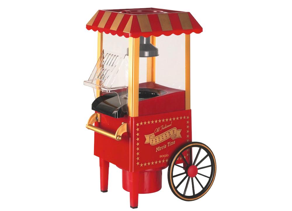 Μηχανή Παρασκευής Ποπ-Κορν Vintage Sogo Pal-ss-11330, 1200W