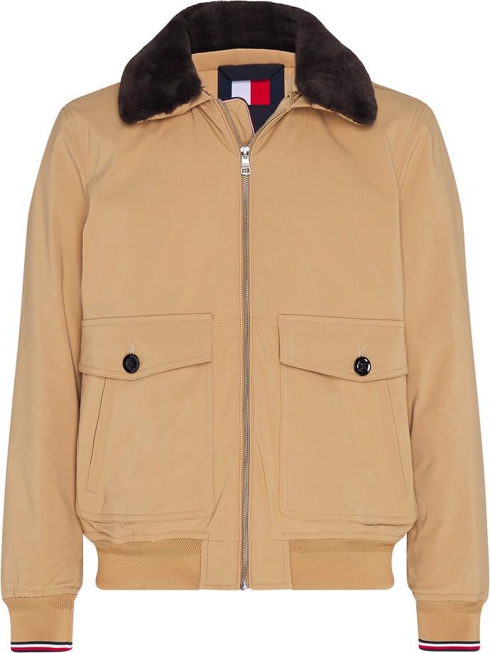 Βοmber jacket με ελαφριά επένδυση