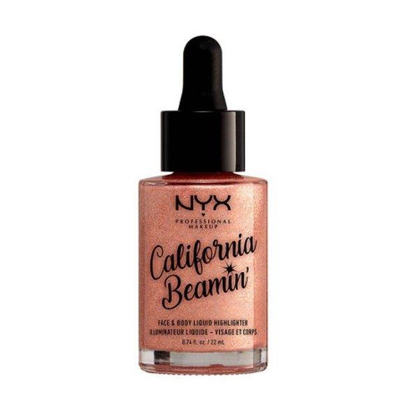 NYX Professional Makeup California Beamin' Face & Body Liquid Highlighter