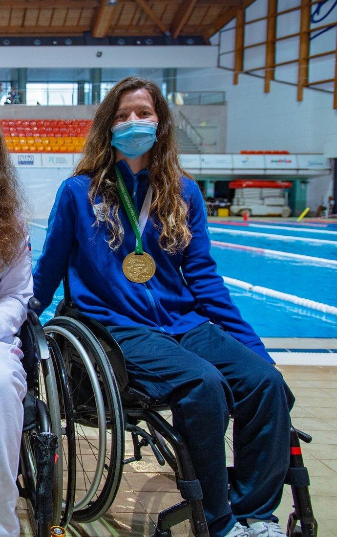 Αθλήτριες Παραολυμπιακοί Αγώνες