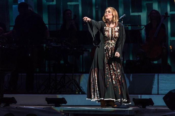 Adele φόρεμα