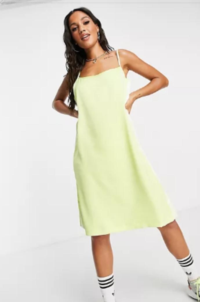 μίντι slip dress