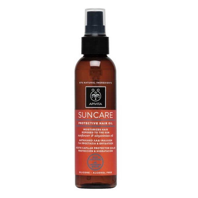 Apivita Suncare Αντηλιακό Λάδι Μαλλιών για Προστασία & Ενυδάτωση