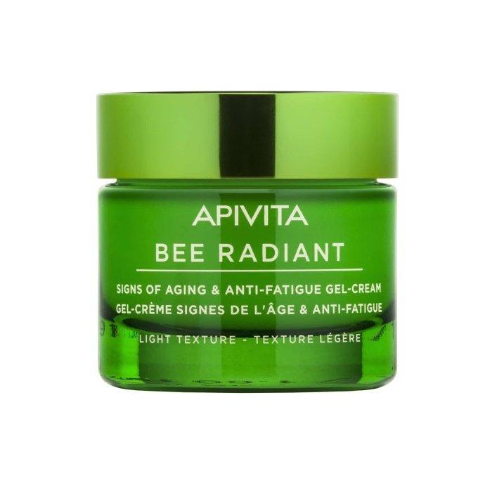 Apivita Bee Radiant Κρέμα-Gel για Σημάδια Γήρανσης & Ξεκούραστη Όψη Ελαφριάς Υφής