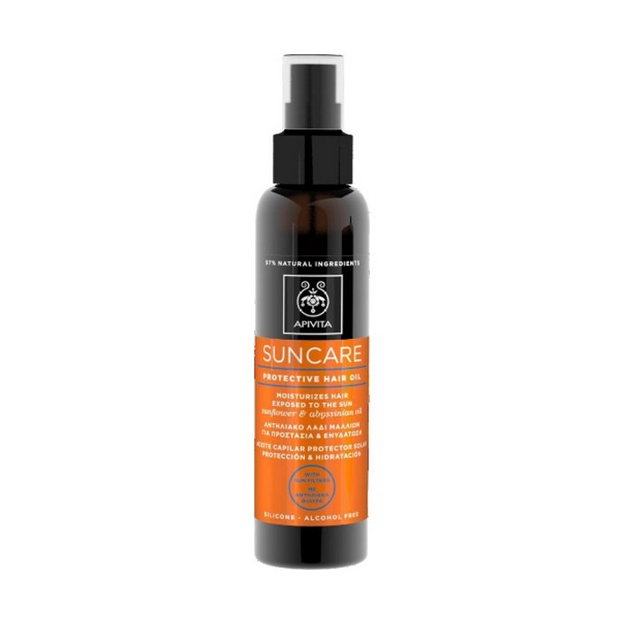Apivita Αντηλιακό Λάδι Μαλλιών για Προστασία & Ενυδάτωση