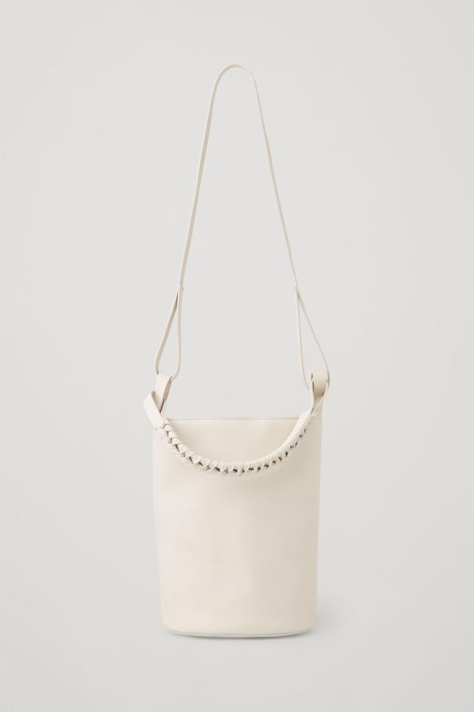 δερμάτινη bucket bag