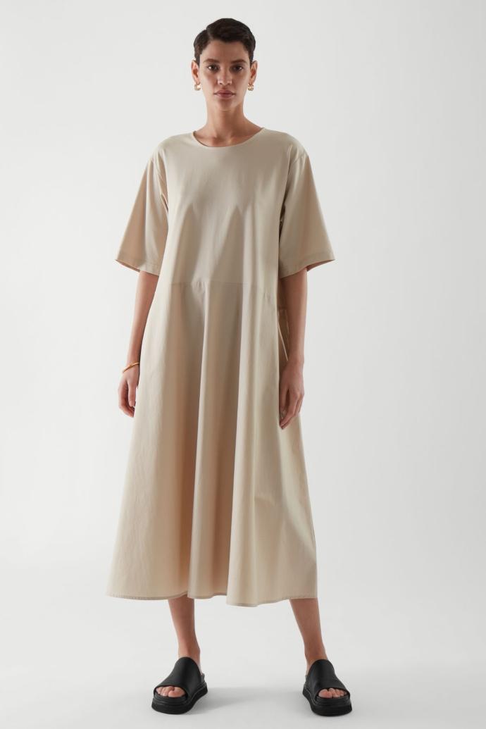 loose t-shirt dress