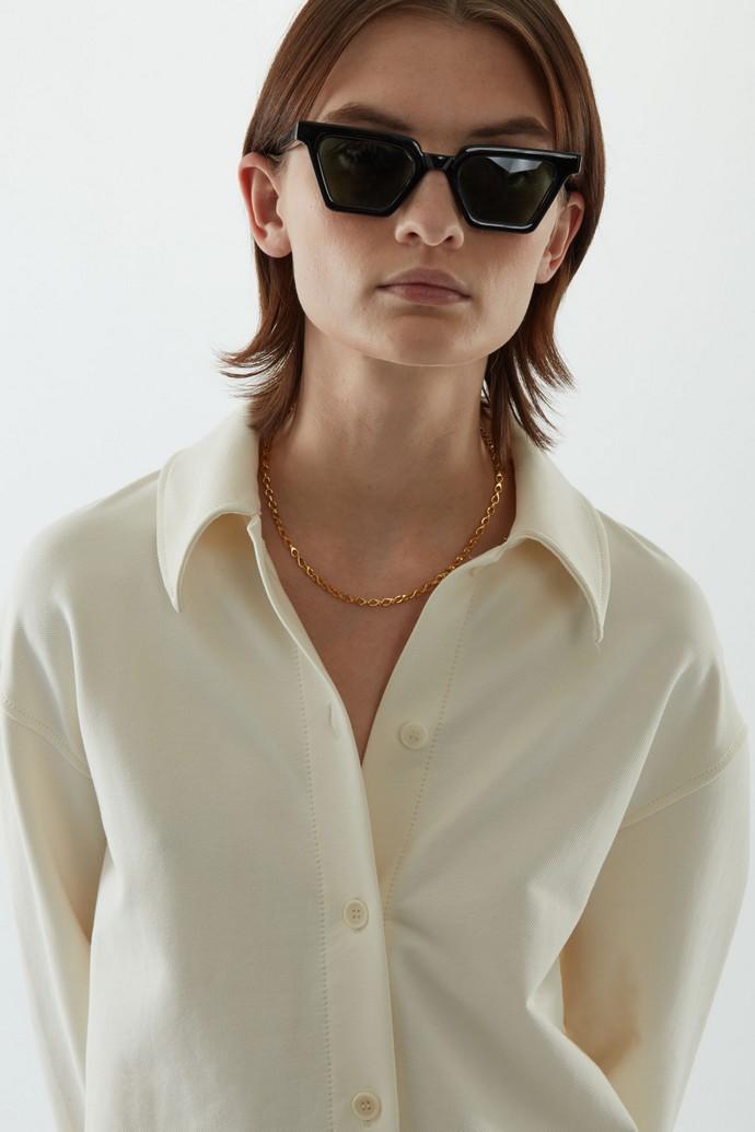 cat eye γυαλιά ηλίου από ανακυκλωμένο πλαστικό