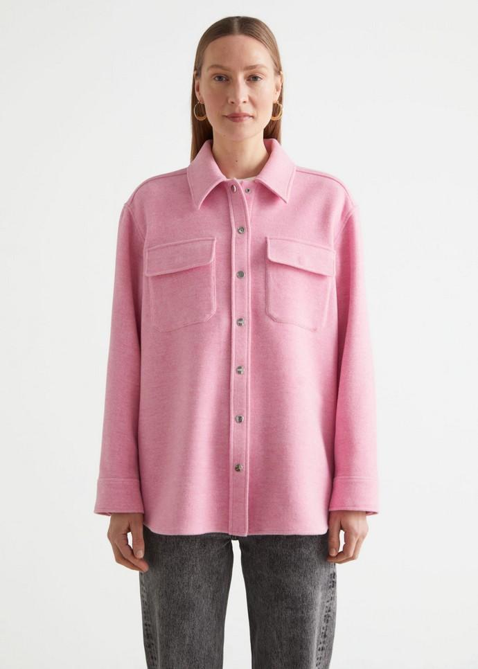 μάλλινο overshirt