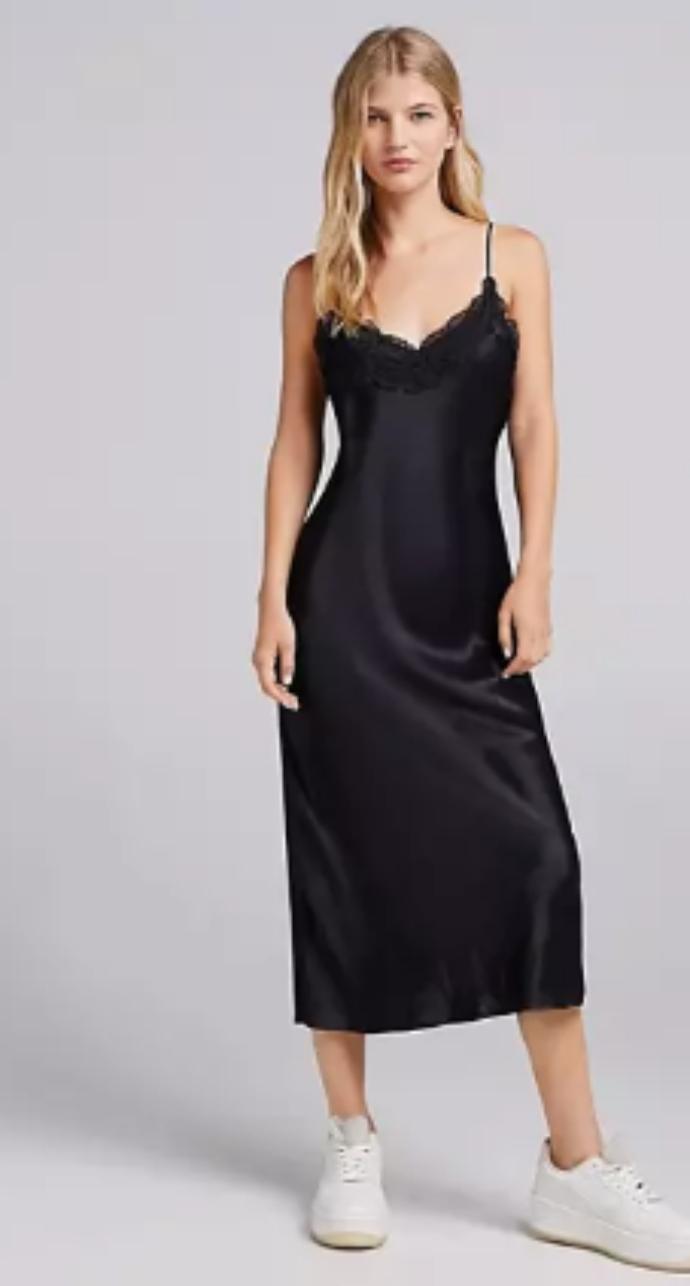 midi lingerie φόρεμα