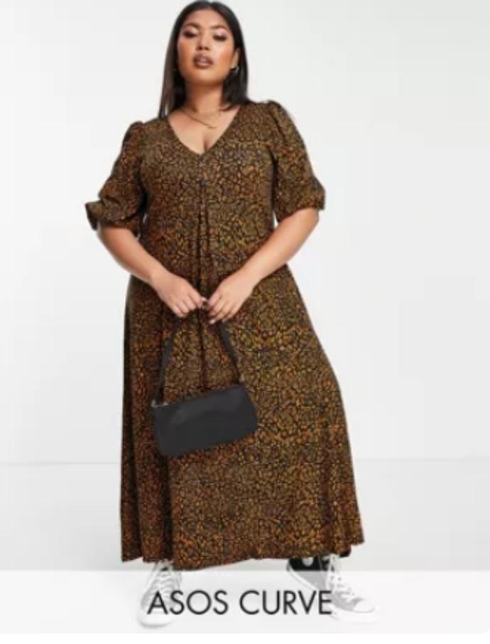 midi φόρεμα σεμιζιέ