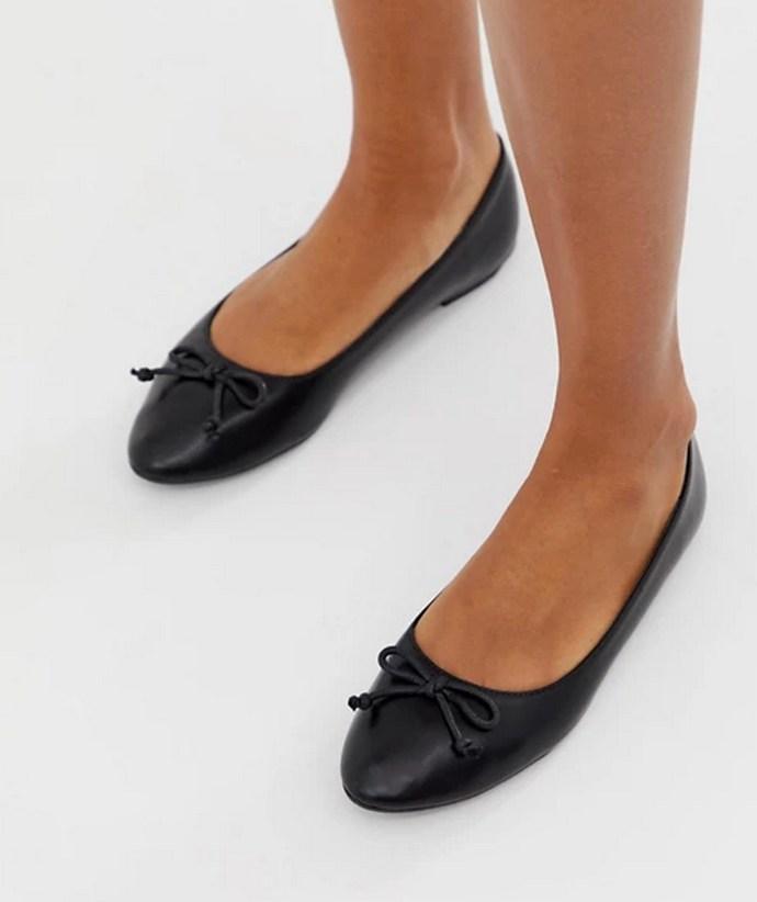 Μαύρα ballet flats
