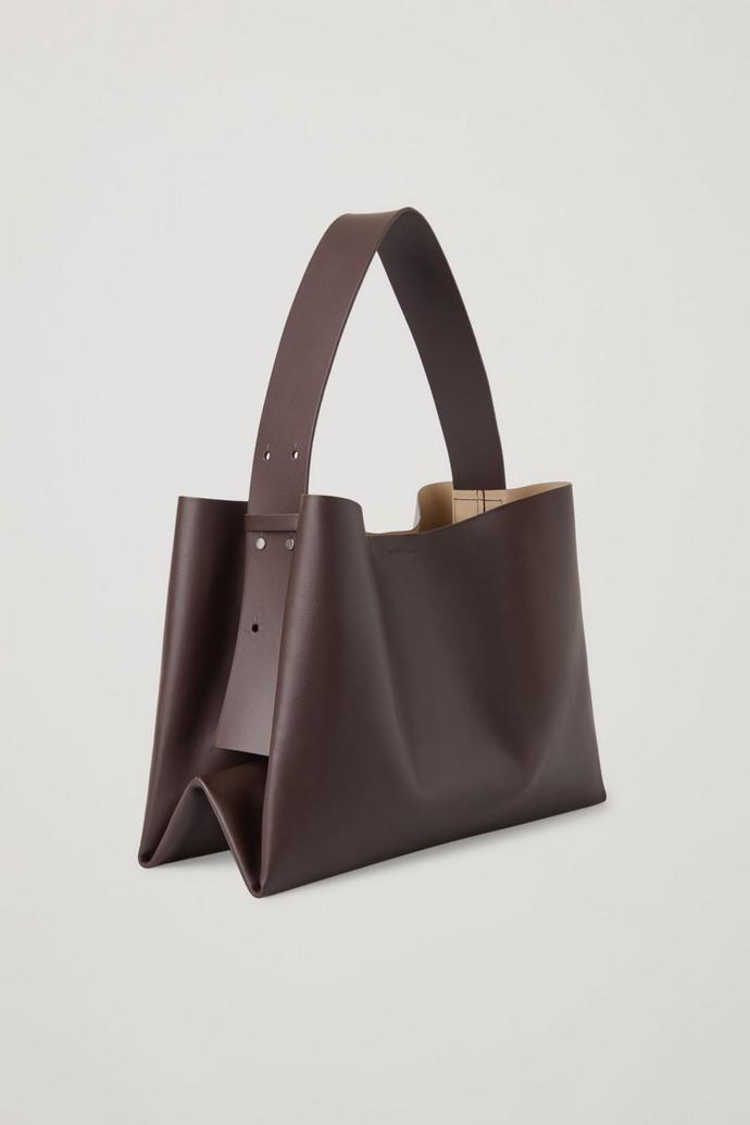Οversized τσάντα ώμου