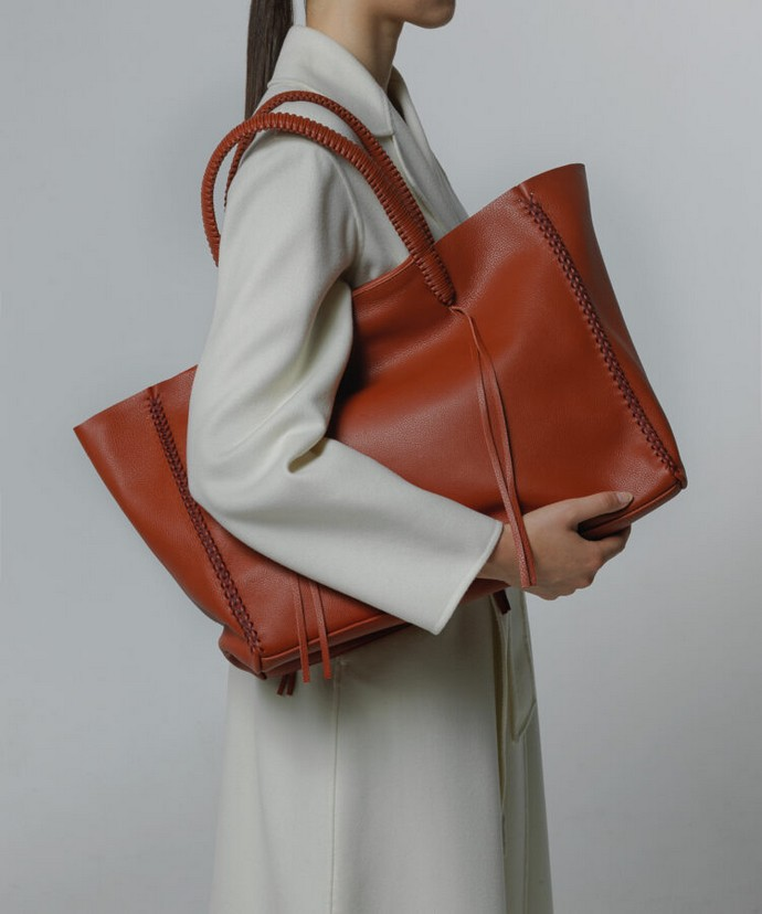 Oversized tote τσάντα