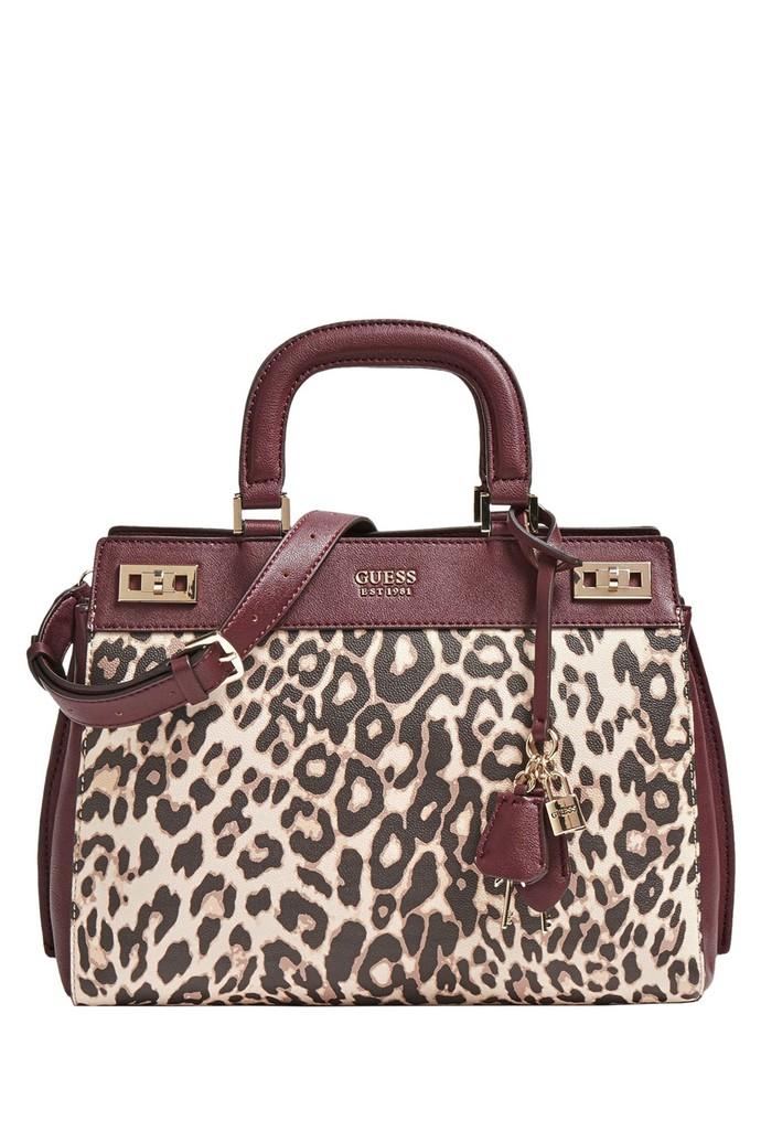 Τσάντα tote με animal print