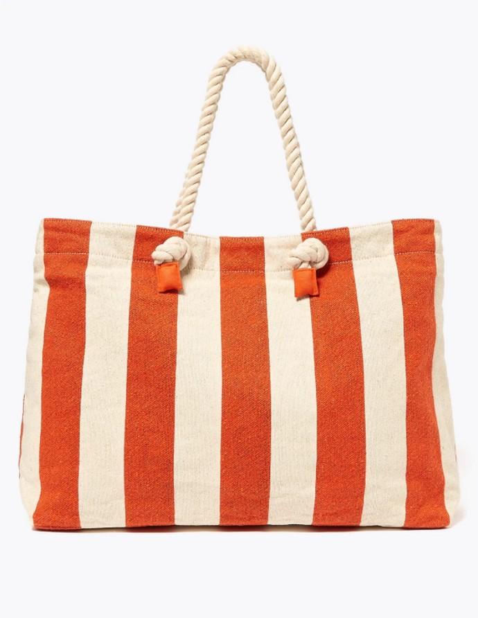Ριγέ τσάντα