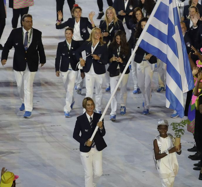 Ολυμπιακοί αγώνες αθλήτριες