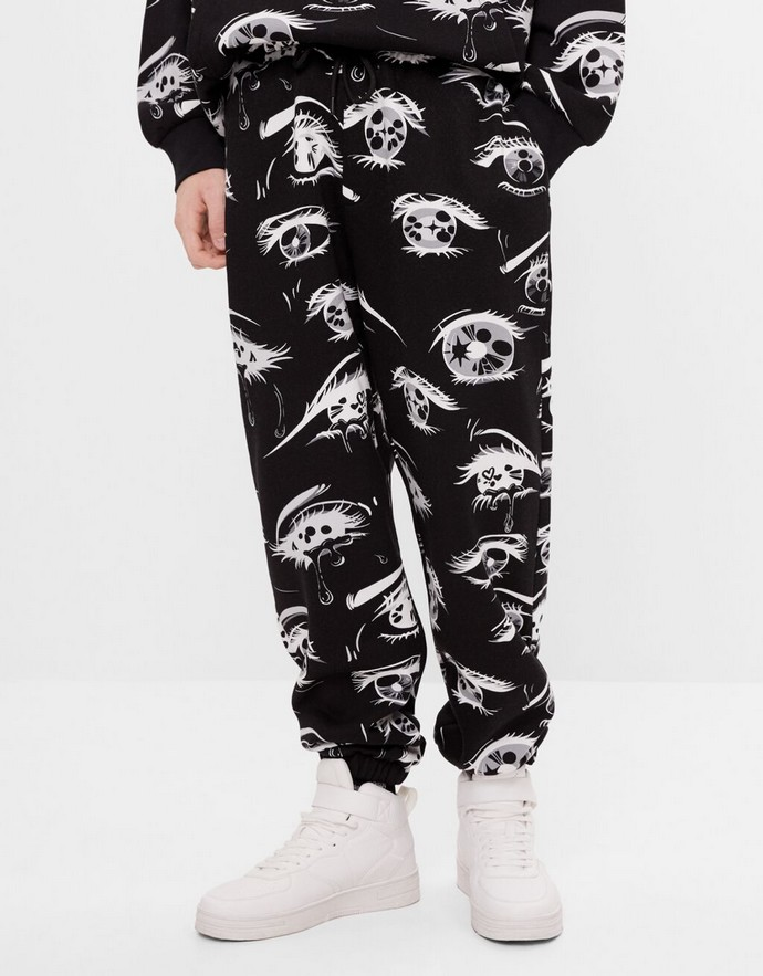 Jogger pants με print