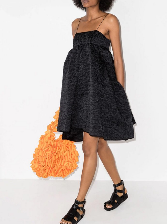 Μίνι puffy φόρεμα
