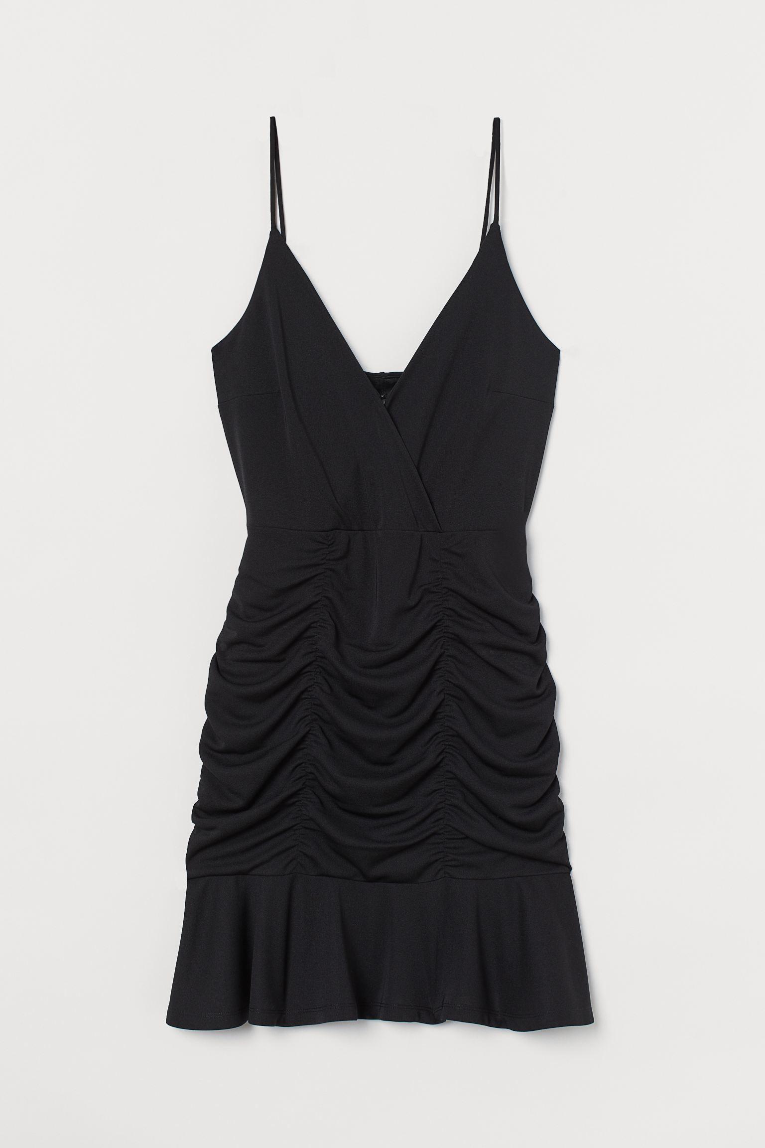 Μίνι ντραπέ φόρεμα