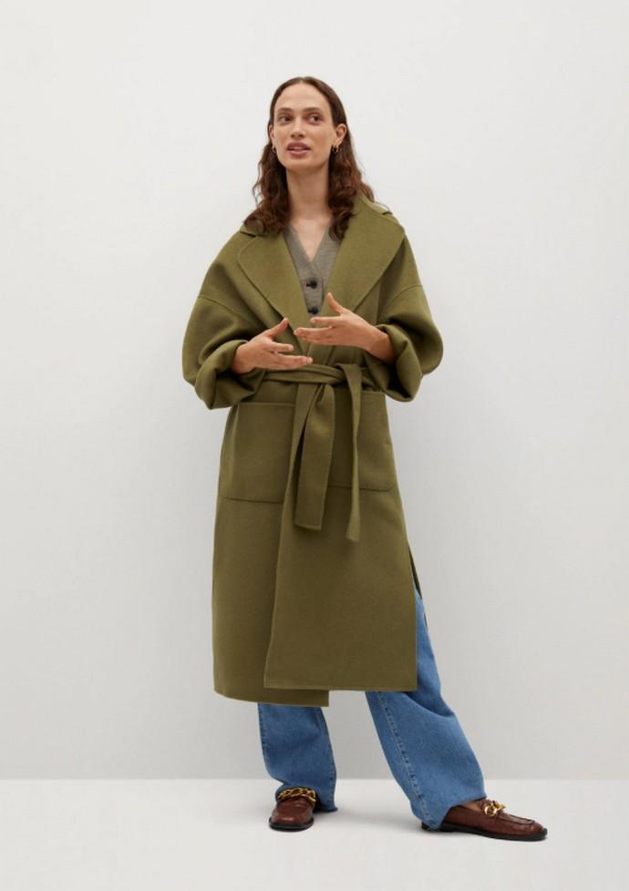 Robe coat με ζώνη