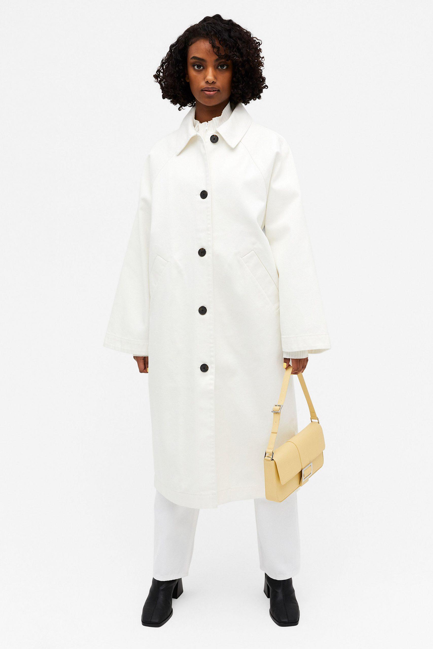Παλτό με ρεγκλάν κόψιμο