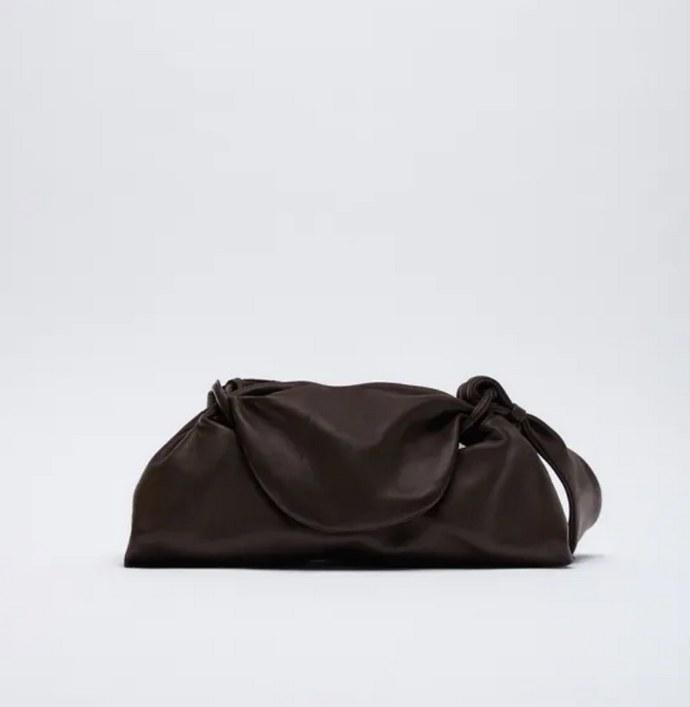 Δερμάτινη pouch τσάντα