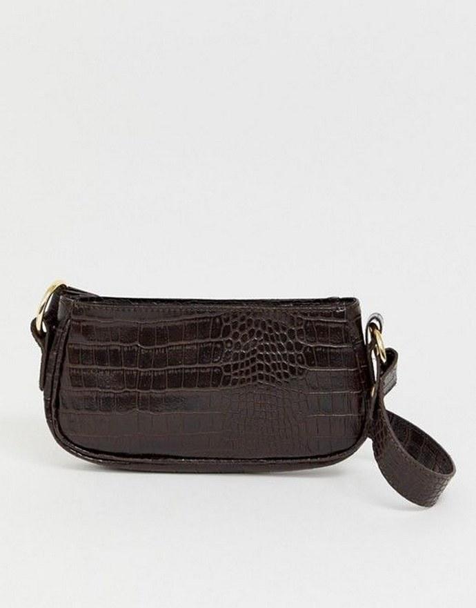Kροκό τσάντα ώμου