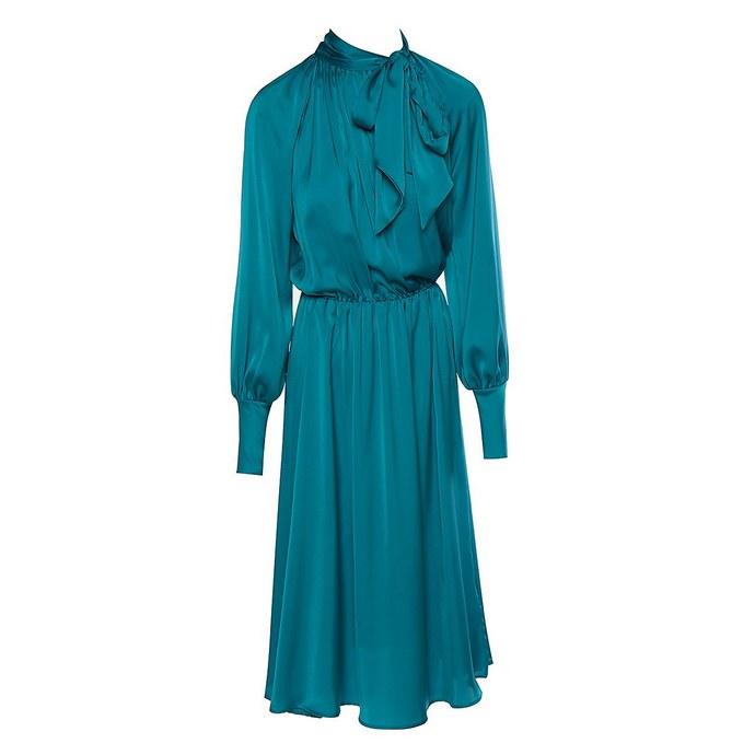 BSB Fashion σατέν φόρεμα με φιόγκο