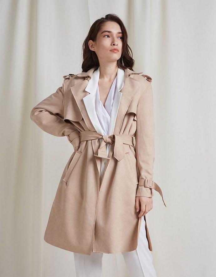 Καπαρντίνα σουέντ - BSB Fashion