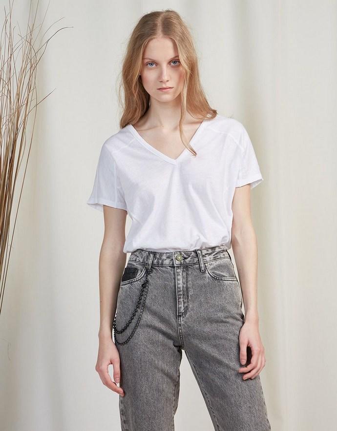 BSB Fashion - T-shirt με κορδόνια